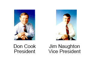Don Cook President and Jim Naughton Vice President Cook & Associates